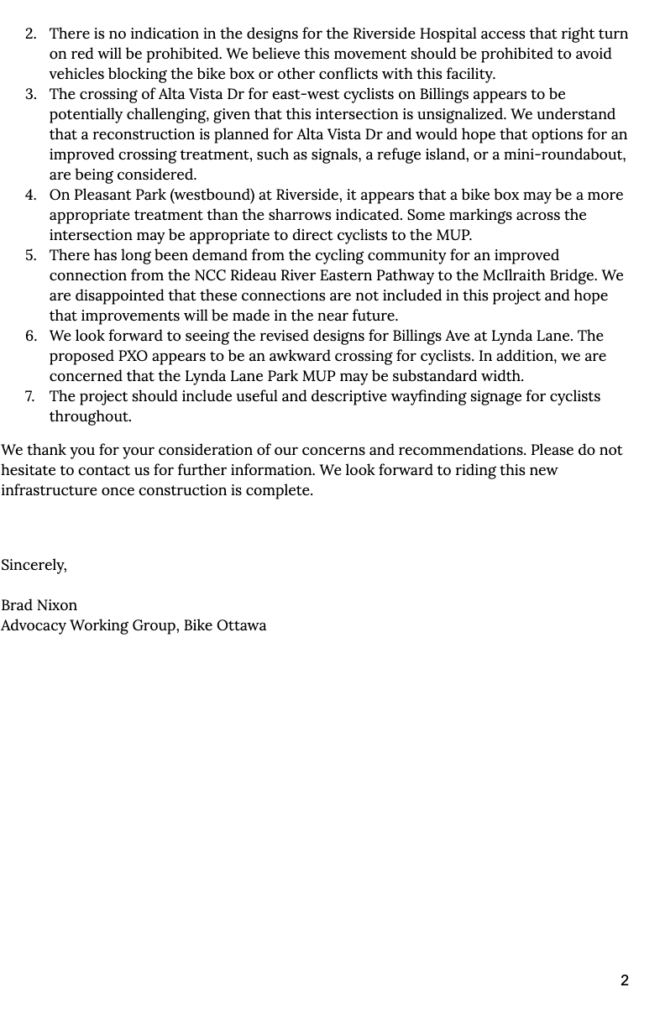 Page 2 of our letter. Text version below